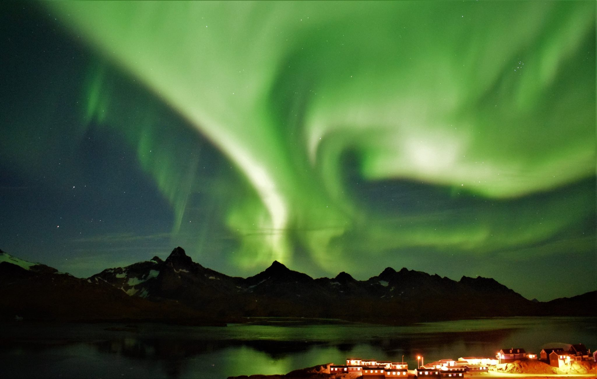 Northern Lights over Tasiilaq