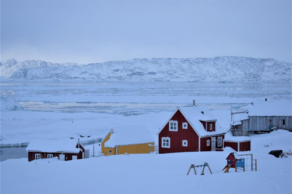 View over Tiniteqilaaq